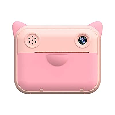 TOMLOV Kids Instant Camera for Children Camera 2.4 Inch 1080P Digital Camera for Kids Instant Print Camera Birthday Gifts for Girl Boy Pink from TOMLOV