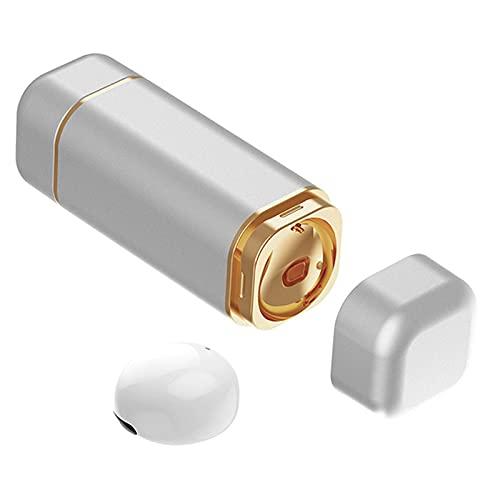 balikha Einzelner Drahtloser Ohrhörer Unsichtbarer Bluetooth Mono Kopfhörer Zum Fahren in Weiß