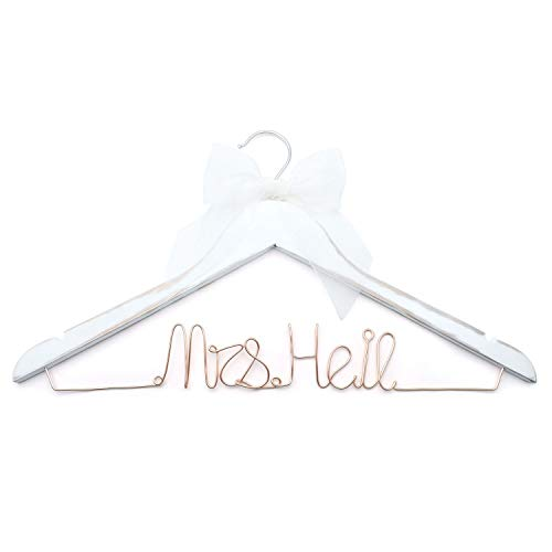 Wood Wedding HangersCustom Personalized Bridal Dress Hanger Gifts for Bride Mother of The Brides Gifts Bridesmaid Hangers Bride Groom Hanger