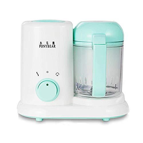 WLT Babypüree Küchenmaschine Lesgos 3 in 1 Ruhiger Mini-Dampfgarer und Mixer für Babynahrung