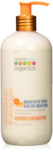 Nature's Baby Organics Conditioner And Detangler Vanilla Tangerine (16 Fl Oz)