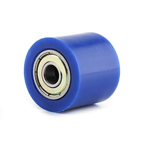 KIMISS Rodillo tensor de cadena de 30 mm kx250 rodillo de cadena mot, rodillo de polea de cadena Deslizador de rodillo de polea de cadena Rodillo tensor de guía Polea de rodillo de cadena Tensor de r