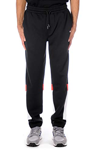 Fila Pantalone Tuta Ian Sweat Pant Uomo Black 682159 L