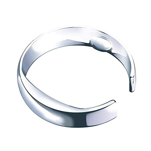 Beauty Anti Snore Ring Magnetic Therapy Acupressure Treatment Against Snoring Device Snore Stopper Finger Ring Sleeping Aid