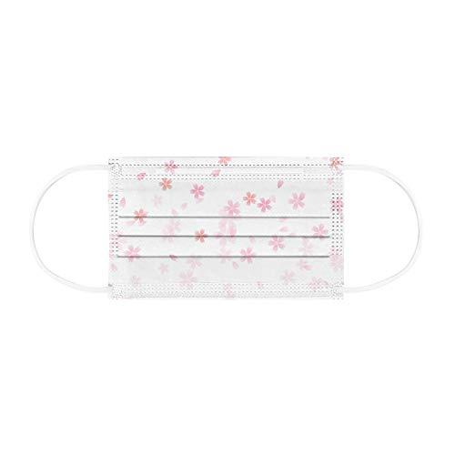 𝙢𝙖𝙨𝙘𝙖𝙧𝙞𝙡𝙡𝙖 Florales Rosas para Bodas, Bonitas 𝙢𝙖𝙨𝙘𝙖𝙧𝙞𝙡𝙡𝙖, Protector Solar Protector con Estampado Flores para Mujeres Y Niñas Al Aire Libre, Montando Senderismo, 10/20/50/100pcs