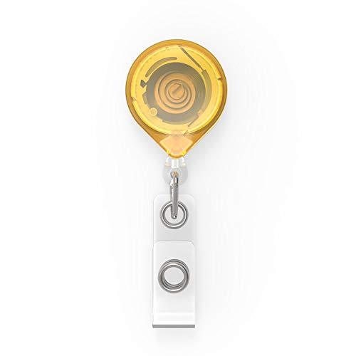 KeyBak KB mbid Porte-clés Mini Clip Jaune, KB mbid Jaune