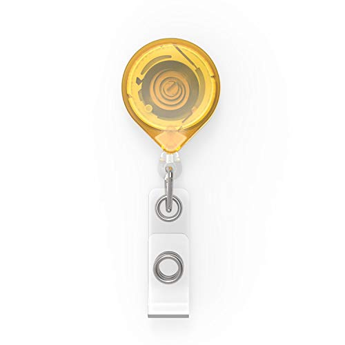 Key Bak KB mbid Porte-clés Mini Clip Jaune, KB mbid Jaune