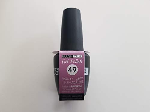 Gel Polish 15 ml semipermanenti Blush Italie 96 couleurs ultra coprenza maximale durée (49 – Pastel Rose)