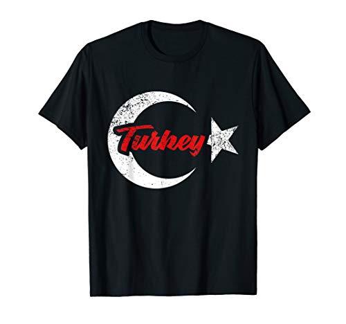 Türkei Flagge T-Shirt Türkische Fahne Trikot Geschenk Land