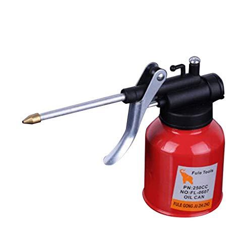 Willlly Hogedrukpomp van 250 ml, met hoge druk en chemische olie, spuitfles voor huishoudelijk gebruik, voor dagelijks gebruik Size Kleur: zwart/bruin,