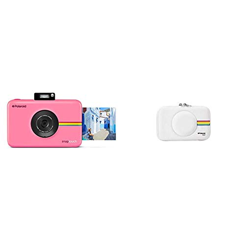 Polaroid Snap Touch 2.0 - Cámara Digital portátil instantánea de 13 MP, Bluetooth, Pantalla táctil LCD + PLSNAPEVAW - Funda (Funda, Polaroid, Polaroid Snap Instant Print Digital Camera,)