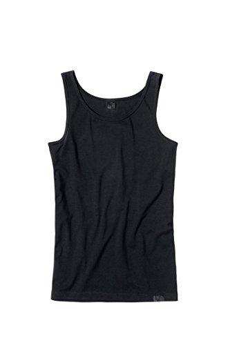 Götzburg Herren Tank-Top, Baumwolle Single Jersey, schwarz, Uni 5