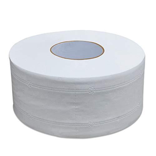 JEANNELIFE Kwaliteit 1 Roll Top Jumbo Zachte Roll Thuis Toiletpapier 4-laags Inheems Hout Toiletpapier Pulp Rolling Paper Sterke Waterabsorptie