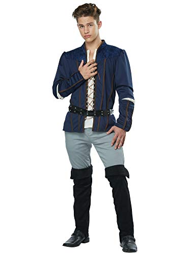 California Costumes Men's Romeo - Adult Costume Adult Costume, -Navy, Medium