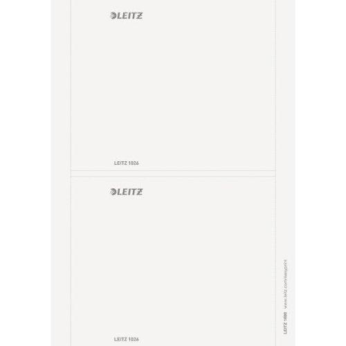 PC-beschriftbare Rückenschilder für Leitz 180° Active Prestige Ordner - breit, kurz 176 x 146 mm, Ausführung breit, kurz 176 x 146 mm