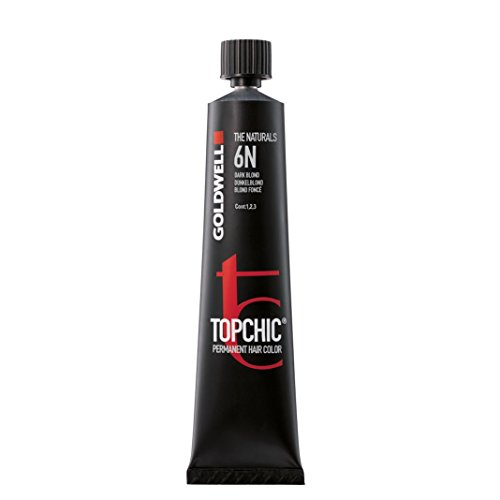 Goldwell Topchic Haarfarbe goldbraun 6B, 1er Pack (1 x 60 ml)