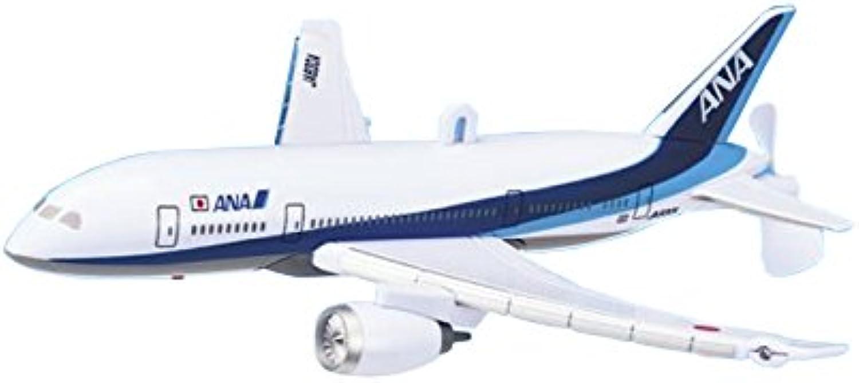 ANA Airplane Jet Toy with LED MT430 Size   8.58 x 8.97 x 2.34 Inch