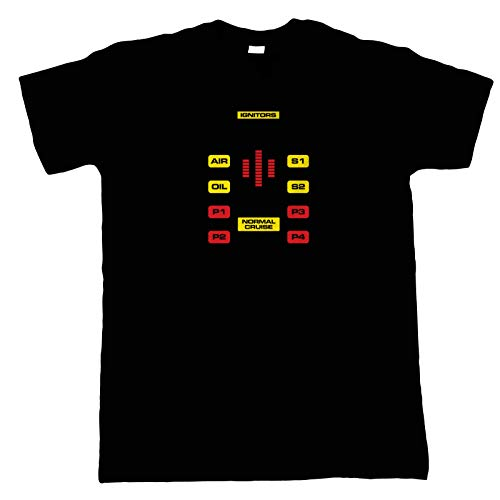 Official 80s Knight Rider Normal Cruise T-Shirt, Black