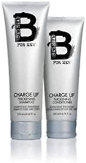 Tigi Bed Head Charge Up Thickening Shampoo 8.45 oz / Conditioner 6.76 oz Duo
