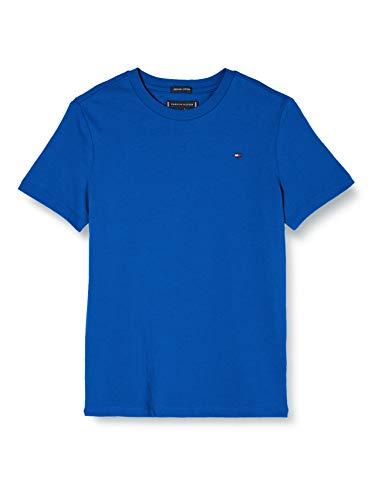Tommy Hilfiger Jungen Essential Original Tee S/s T-Shirt, Blau (Lapis Lazuli 431-880 C5d), One Size (Herstellergröße: 74)