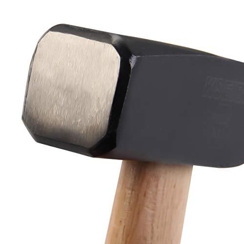 KSEIBI Engineers Machinist Blacksmith Strike Club Hammer Wooden Handle (3.30 lb / 1500 grams)