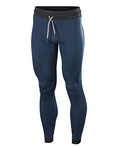 FALKE Herren Tights Steel Long, Sport Performance Material, 1 Stück, Blau (Nautica 6618), Größe: S