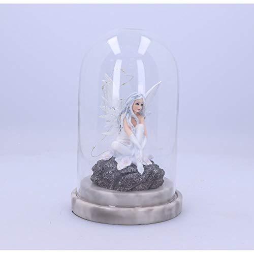 Nemesis Now Alvi - Figura Decorativa (21,5 cm), Color Blanco