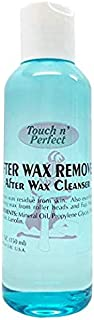 Touch n' Perfect Waxing Essential After Wax Remover Cleanser & Pre-Depilatory Oil Moisturizing Wax Antiseptic Cleanser (5 Fluid oz.) (Touch n' Perfect After Wax Remover Cleanser)