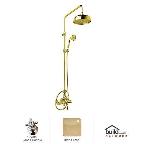 Find Bargain Rohl AKIT49171EXCIB Kit Country Bath Exposed Thermostatic Shower Package with Crystal C...