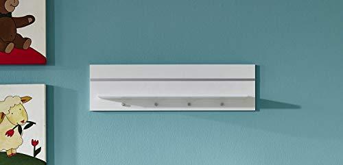 trendteam BZLE68001 Wandboard Weiß, BxHxT 80x22x18 cm