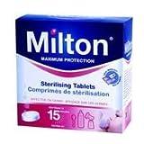 2 x Tabletas esterilizadoras Milton 28.