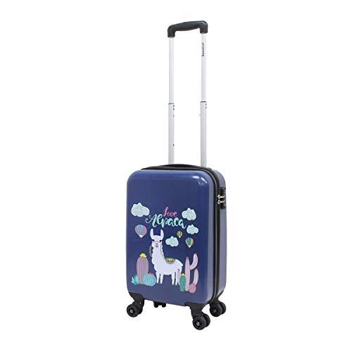 Kinderkoffer harde schaal handbagage koffer saxoline 55 cm Lama