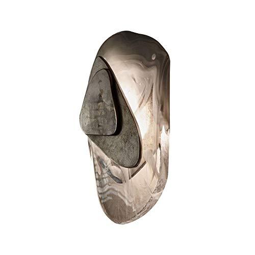 Aplique de interior Moderna lámpara de pared de cristal clásico iluminación negra accesorio brillante sofá decoración de la pared escono elegante sala de estar decoración interior 11. 8 pulgadas de a