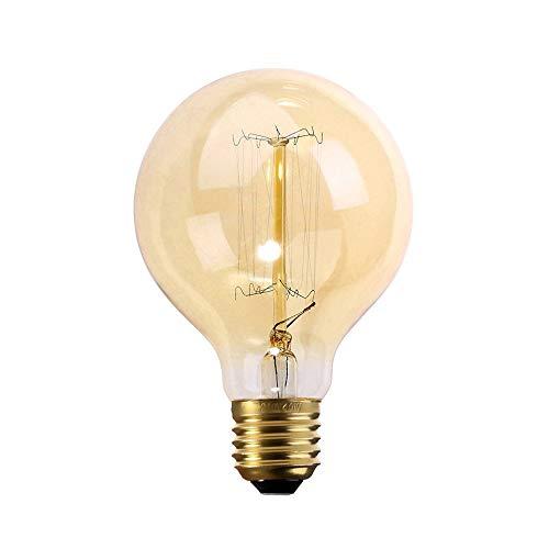 A80-60W ámbar E27 estilo antiguo Edison bombillas vintage industrial retro lámparas UK