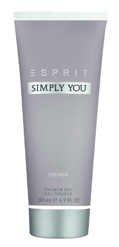 Esprit Simply You men Duschgel, 200ml, 1er Pack (1 x 200 ml)