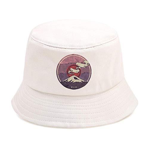 Zent Mount Fuji Plegable Mans Bucket Hat Sombreros de