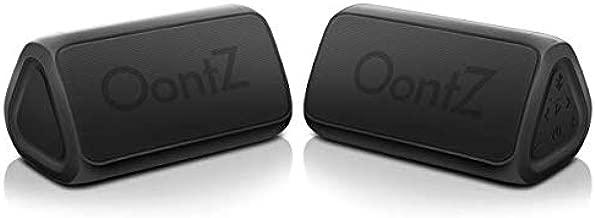 Cambridge SoundWorks OontZ Angle 3 RainDance IPX7 Waterproof Portable Bluetooth Speaker, Two Speaker Edition, 10 Watts Power, Louder, Crystal Clear Stereo, Richer Bass, 100ft Wireless Range