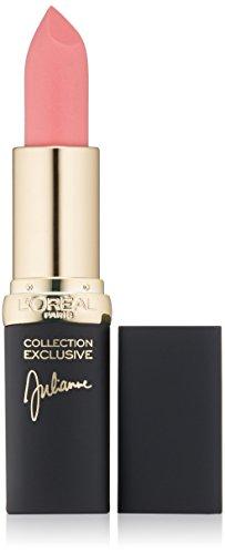L'Oréal Paris Colour Riche Collection Exclusive Lipstick, Julianne's Pink, 0.13 oz.