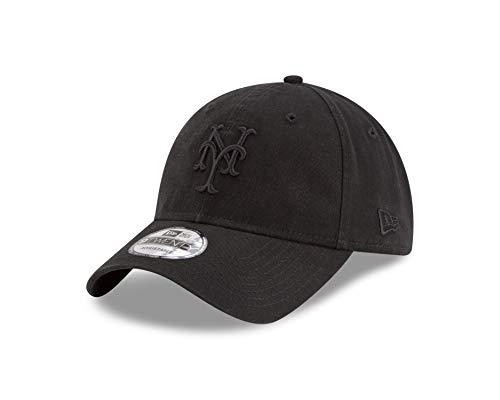 New Era York Mets 9twenty Adjustable Cap MLB Black On Black Black - One-Size