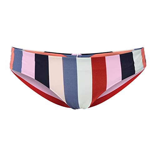 O'NEILL Bikini para Mujer PW Maoi Mix Bottom, Mujer, Bikini, 0A8524, Multicolor (Rojo AOP W/Blue 3950), 38