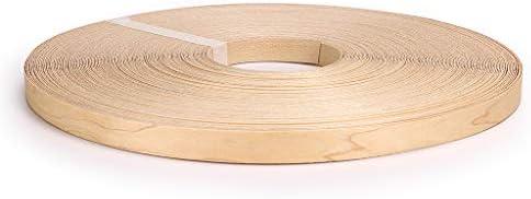 Skelang 3 4 250 Roll Maple Wood Veneer Edge Banding Preglued Iron On with Hot Melt Adhesive product image