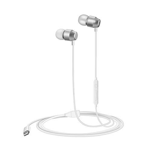 PALOVUE Lightning Ohrhörer In-Ear Magnetic MFi Zertifiziert mit Mikrofon-Controller Kompatibel mit iPhone 12 11 Xs/XR/XS Max/iPhone 7/7P iPhone 8/8P (Weiß)
