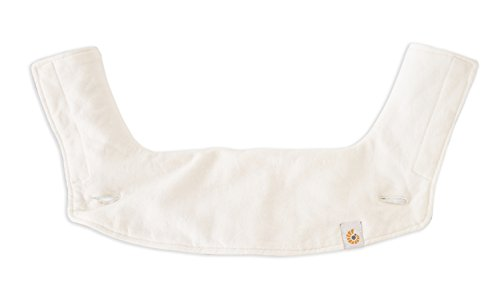 Ergobaby Teething Pad and Bib for 360 Baby Carrier, Natural