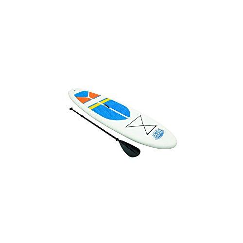 Bestway 65070 - Tabla Paddle Surf WaveEdge Sup White Cap 305x81x10 cm con Inflador Manual