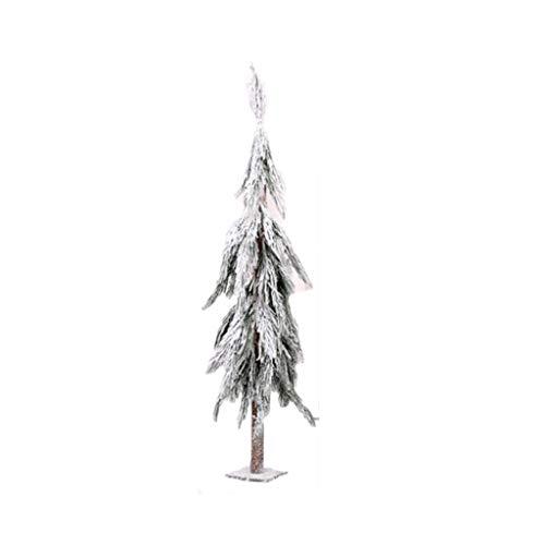 Yuan- Weihnachten Baum, Umweltfreundliches PE Massivholz Material, Kreativer fallender Schneebaum Turmart, das Einkaufszentrum Fenster Ordnen Stütze (Color : 1.5m)