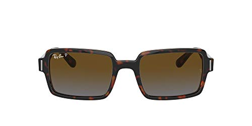 Ray-Ban Gafas de sol RB2189 BENJI 1292W1 Gafas de sol unisex color Havana gris tamaño de lente 54 mm