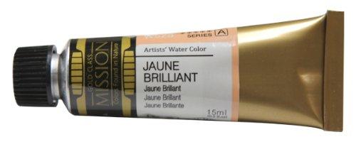 Mijello Mission Gold Class Water Color, 15ml, Jaune Brilliant No.1