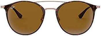 Ray-Ban Brown Aviator Sunglasses (RB3546 9074 52)