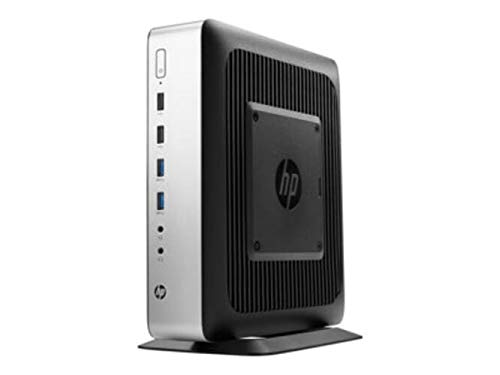 HP t730 - Thin client - tower - 1 x RX427BB 2.7 GHz - RAM 8 GB - flash 64 GB - Radeon HD 9000 - GigE - Win Embedded Standard 7P - monitor: none - Smart Buy