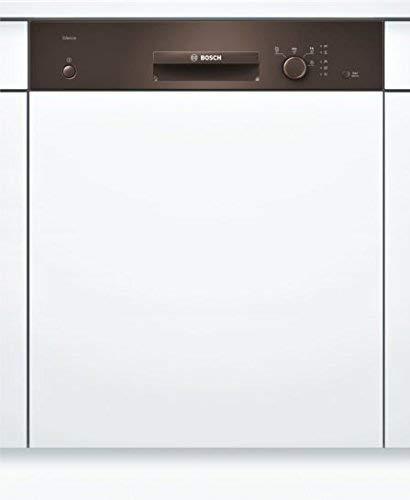 Preisvergleich Produktbild Bosch SMI24AM00E Serie 2 Geschirrspüler Teilintegriert / A+ / 60 cm / Braun / 290 kWh / Jahr / 12 MGD / Silence / VarioBesteckkorb